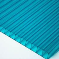 Buy cheap Twin-wall polycarbonate sheet from wholesalers