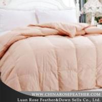 Buy cheap Winter feather quilt from wholesalers