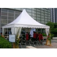 Buy cheap 20 Men Waterproof Canvas Pagoda Party Tent / 10x10 Pop Up Canopy Tent from wholesalers