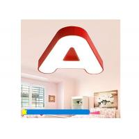 Buy cheap 48W 3D LED Acrylic Letters Metal Acrylic Pendant Lighting Boys Girls Eye Protection from wholesalers