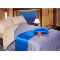 Buy cheap Hotel Collection Bedding Set Grey Color 300TC Silky Material  Linen from wholesalers