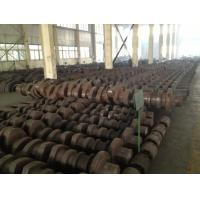 Buy cheap OEM Crankshaft Forgings Forged Alloy Steel Industrial Shaft 42CrMo, 34CrNiMo6, from wholesalers