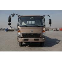 Buy cheap HOWO 4x2 Light Duty Commercial Trucks Fuel Saving Brown Color 160hp 8.2t Rear Axle from wholesalers