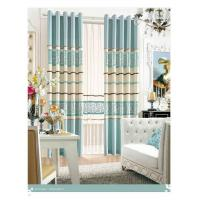 Buy cheap Colorful Long Wide Jacquard Living Room Curtain Bracket Sound Insulation and from wholesalers