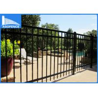 Buy cheap Decorative Wrought Iron Fence Panels 1.8m*2.4m , Powder Coated Steel Fence from wholesalers