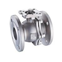 Buy cheap SS304 / SS316 Floating Flanged Stainless Steel Ball Valve 1/2 - 8 Inch Mounting Pad from wholesalers