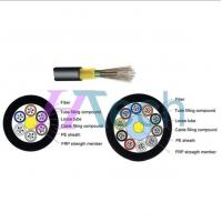 Buy cheap Unarmoured in/out 12 Cores Dielectric Fiber Optic Cable GYFTY from wholesalers