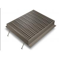 Buy cheap Silver Channel Drain Grate Cover , Low Carbon Galvanised Drainage Grates from wholesalers