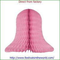 Buy cheap christmas decoration pink ring honeyconb decroation from Wholesalers