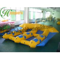 Buy cheap Customized Colorful PVC Inflatable Flying Fish Boat With 0.9mm Tarpaulin from wholesalers