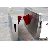 Buy cheap 3 Lanes Flap Automatic Swing Barrier Gate Card Collector For Biometric Access Control product