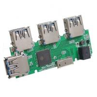 Buy cheap DIP PCB Assembly Small WIFI Router Board with USB Connectors Green Color from wholesalers
