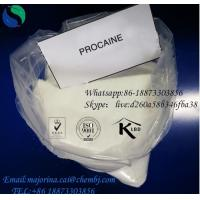Buy cheap Procaine Anti - Pain Local Anesthetic Drugs Procaine Hcl/Procaine  59-46-1 from wholesalers