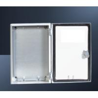 Buy cheap Powder Coating Outdoor Electrical Control Box With Double Teeth Cylinder product