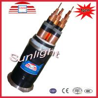 Buy cheap 110kv XLPE Power Cable / Multi Core Armoured Cable For Power Station from wholesalers