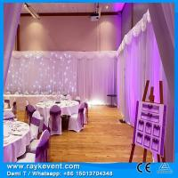 Buy cheap RK Hot sale stage curtains/ black pipe and drape/ Adjustable pipe and drape systems from wholesalers