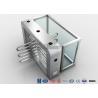 Buy cheap Fingerprint Reader Waist Height Turnstiles Stainless Steel Turnstyle Gate For from wholesalers