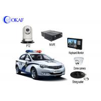 Buy cheap 4G Police Car IR Auto Tracking PTZ Camera / Security Camera With Powerful Magnet Mount from wholesalers