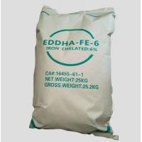 Buy cheap EDDHSA Fe 6% iron fertilizer product