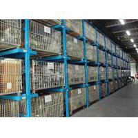 Warehouse Drive In Pallet Racking , Push Back Pallet Racking 1000kg~6000kg ISO 9001