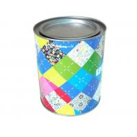 Buy cheap Wholesale promotional round coffee tin with lever lid product