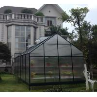 Buy cheap Double Door Powder Coated Hobby Greenhouse Kits For Agriculture , Eco Friendly Garden House from wholesalers