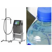 Buy cheap Black red yellow blue white color Glass / Plastic Bottle / Metal / Medicine Box Industrial Inkjet Coding Printer from wholesalers