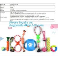 Buy cheap DOG ACCESSORIES, DOG ROPE ROY SET, COTTON ROPE, DOG BITE, MADE UP NON-TOXIC COTTON, RESISTANCE TO BITE MATERIALS, WHOOBE from wholesalers