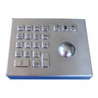 Buy cheap Rugged Weather proof industrial stand alone laser trackball mouse with numeric keypad from wholesalers