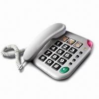 Buy cheap Corded Phone with Big Keys and 3-one Touch Memory from wholesalers