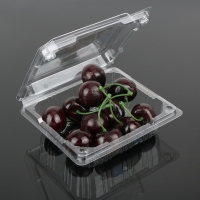 Buy cheap 12.5cm Disposable Fruit Salad Containers from wholesalers