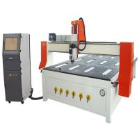 Buy cheap China factory Jinan  Economic CA-1530 vacuum table wood rotary engraving machine 4 axis cnc low price from wholesalers