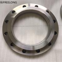 Buy cheap GOST12820 titanium flange gr1 gr2 gr5 titanium flange ring used for oil pipeline from wholesalers