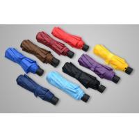 Mini Size Solid Color Manual Open Umbrella , Double Vented Patio Umbrella 8 Ribs