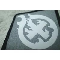 Buy cheap Custom Silver Reflective Screen Printing Label , Soft TPU Patch For Garment from wholesalers