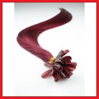 Buy cheap indian human remy hair extensions micro ring loop hair extension hair pieces and human hair wig from wholesalers
