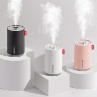 Buy cheap 280ml Portable Mini Cool Mist Humidifier with Night Light,USB Desktop Humidifier for Bedroom Car Travel Office from wholesalers