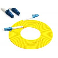 Buy cheap LC - LC Fiber Optic Patch Cables , FTTH Optical Patch CordPVC / LSZH from wholesalers