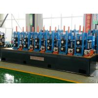 Buy cheap Steel Welded Pipe Making Machine Friction Saw Cutting 50m/Min Line Speed from wholesalers