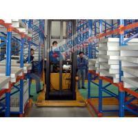 300 mm Length Pallet Rack Shelving Industrial Metal Shelves With Narrow Aisle