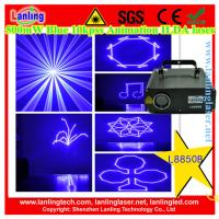 Buy cheap Lanling 500mW 450nm Blue 10kpss ILDA Animation laser DJ lighting laser world show projector from wholesalers
