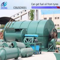 Buy cheap waste used tyre recycling machine with 60T hydrauliac pressure auto-feeder from wholesalers