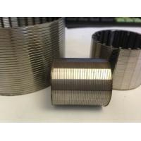 Buy cheap Johnson wedge wire strainer screen pipe filter for water treatment in well drilling from wholesalers