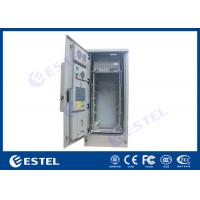 Buy cheap 42U Air Conditioner Type Outdoor Telecom Cabinet / Double Wall Heat Insulated Communication Enclosure from wholesalers