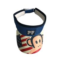 Buy cheap Cotton Fabric Camouflage Sun Visor Hat With Magic Tape Buckle Novelty Deisgn from wholesalers