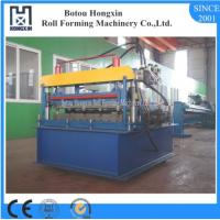 China Automatic Roofing Sheet Crimping Machine 0 - 10m / Min Working Speed on sale