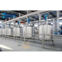 Buy cheap 8000 Liter Beverage Mixing Machine Tanks Series For Juice Processing Type from wholesalers