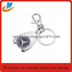 China No mold fee custom keychain holder,car keychain,house shape keychain holder on sale