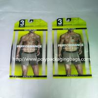 Buy cheap Thick PE Underwear Resealable Plastic Bags , Clothing Store Sticky Bone Foil Zip Lock Bags from wholesalers