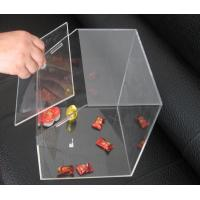 Buy cheap Transparent 3mm Acrylic Display Case , Candy Plexiglass Cases Custom product
